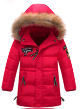 Winter Jacket for boys 4 & up, Outerwear Coat, Hooded Jacket, Warm Cotton-Pad
