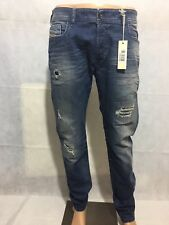 Diesel 2015 Limited Edition Slammer 0853E Slim-Straight Made in Italy Rare Jeans