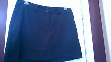 NWT Ladies NIKE GOLF BLACK SKORT SKIRT - sizes 8, 12 & 14 DRI-FIT