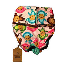 Dog Diapers - Made in USA - Happy Monkey Washable Dog Diaper Dog Nappies for ...