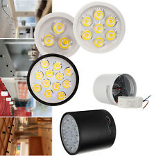 Dimmable 3W 5W 7W 9W 12W 15W LED Ceiling Surface Mounted Downlight Fixture Lamp