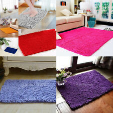 Bedroom Door Mat Bath Mat Window Mat Floor Carpet Fluffy Chenille Rug Cushion