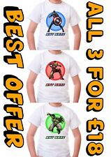 Avengers Boys T-shirt crew neck size Personalised 100% Cotton