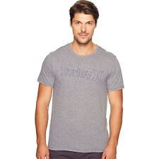 Hurley Mens One & Only Outline Tri-Blend Short Sleeve Tee
