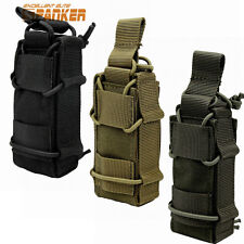 1000D Military Tactical Molle Magazine Mag Pouch Flashlight Holster Belt Bag