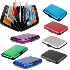 Newest Aluminum Pocket Business ID Credit Card Wallet Holder Waterproof Case Box
