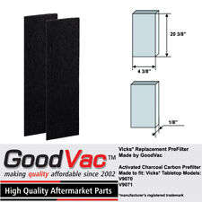 Vicks Air Purifier V9070 V9071 Carbon Pre-Filter Replacement Filter B by GoodVac