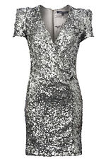 BNWT French Connection FCUK NEW Samantha Celebrity Sequin Evening Party Dress