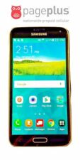 Unlocked Pageplus Samsung Galaxy S5 Black - 16GB - 4G LTE - UNLIMITED DATA
