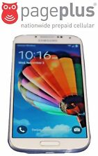 Unlocked Pageplus Samsung Galaxy S4 - 16GB - 4G LTE - UNLIMITED DATA WITH SIM