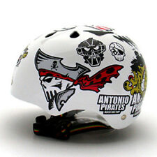 Motorcycle Helmet Decal Sticker Snowboarding Biker Hard Hat - Antonio Pirate 01