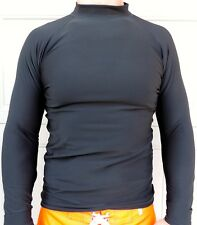 Men's Thermal, Long Sleeve, Rash Guard, LightWeight Warmth, Sizes: Small-3XL,New