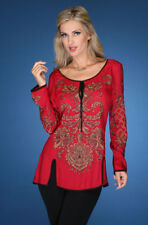 Sequined Tunic Top
