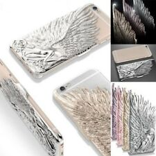 Luxury Angel Wings 3D Engraving Hard Back Case Cover for iPhone SE 5S 6 6S Plus