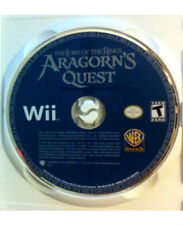 Lord of the Rings Aragorn's Quest Original Nintendo Wii Video Game Wholesale LOT