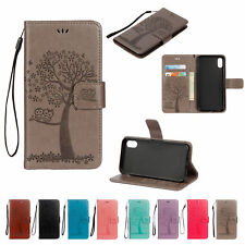 For iPhone Xs X 8 7 6s 5S SE Flip Leather Wallet Card Slots Stand Case Cover
