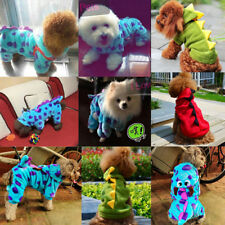 Puppy Dog Cat Hoodie Costume Pet Pupply Coat Apparel Dinosaur Cat Outfit Clothes