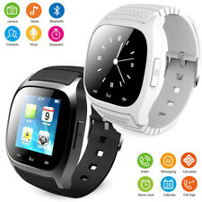 US Stock Bluetooth Smart Watch Touch Screen Sport trucker For Android LG Huawei
