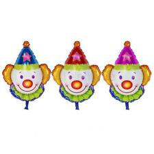 Magideal Clown Smiling Face Foil Balloons Kids Playground Birthday Party Gift