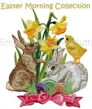 EASTER MORNING COLLECTION - MACHINE EMBROIDERY DESIGNS ON CD