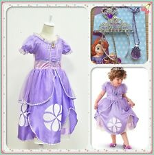 Princess Sofia Dress The First Childs Fancy Dresses Costume Party Dress