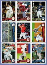 2011 TOPPS UPDATE ROOKIE CARD RC SINGLES U PICK COMPLETE YOUR SET