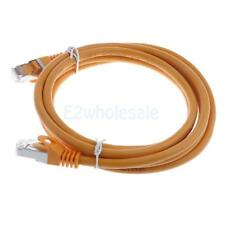 Cat6A Network Ethernet Modem Molded Patch Cable RJ45 Snagless Shielded STP