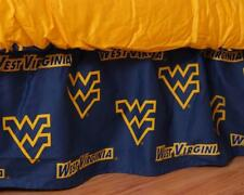 West Virginia Mountaineers Dust Ruffle Bed Skirt