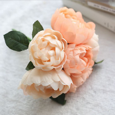 Artificial Rose Peony Silk Flower Bridal Hydrangea Home Wedding Garden Decor Hot