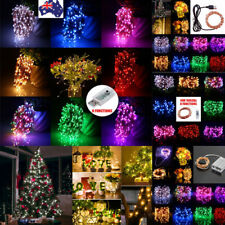 10M 100LED USB Fairy String Light Copper Wire Lamp Waterproof Xmas Party Decor