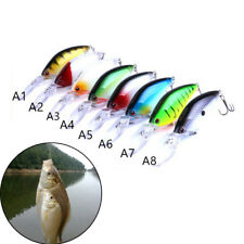 Floating  Diving Crankbait Fishing Lures17.8g/10.5cm Lifelike Wobblers Bait fm