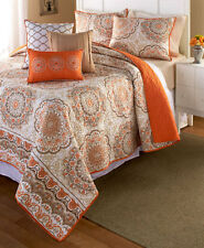 6 PC QUILT SET KING FULL/QUEEN BEDDING BEDSPREADS COVERLETS QUILTS