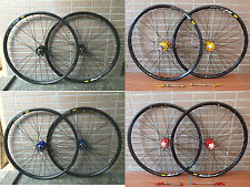 "Mavic 319 Rims Modeng Hubs MTB Mountain Bike 29"" F&R Wheels Disc Wheelset"