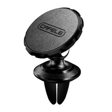 Air Vent Car Holder Mount universal Leather Surface Magnetic for Cell Phone PDA