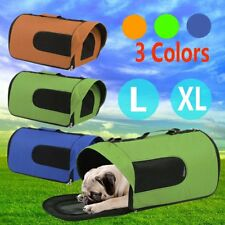Pet Carrier Dog Cat Soft Crate Cage Portable Kennel Foldable Travel L XL O5