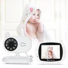 Wireless 2.4GHz Digital LCD Baby Monitor Camera Night Vision Audio Video J4Y3