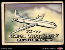 1952 Topps Wings #126 XC-99 Cargo transport GOOD