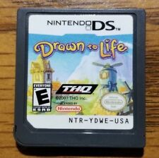 Drawn to Life (Nintendo DS, 2007)  TESTED WORKING 3DS 2DS DSi DS XL