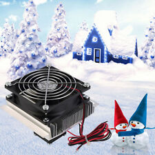 Thermoelectric Peltier Refrigeration Cooling System Cooler Fan Heatsink Kit Good