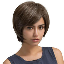 Fluffy Natural Layered Fashion Short Wave& Straight Synthetic Full Hair Wigs