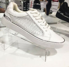"""NEW WINDSOR SMITH SNEAKERS LADIES FLAT CASUAL SHOES """"HARLEY""""R$129.95 WHITE SZ 6"""