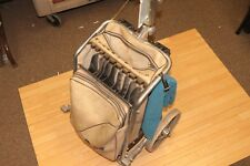 Vintage Riviera Deluxe Golf Bag Caddy Cart