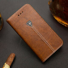 Luxury Retro Flip Book Stand Wallet PU Leather Case Cover For Nokia Lumia Mobles