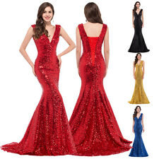 Sexy MERMAID Long Prom Wedding Evening Gown Formal Cocktail Bridesmaid Dress Hot