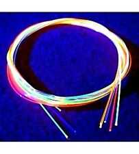 "SIX INCHES .060"" (1.5mm) Fiber Optic Fiberoptic Replace Sight Rods Choose Color"