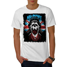 Anarchy Skull Flag UK Men T-shirt S-5XL NEW | Wellcoda