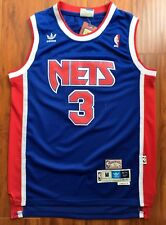 Drazen Petrovic #3 New Jersey Nets 1992-93 Throwback Swingman Jersey