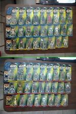 Star Wars POTF Freeze Frame 12 Figures Available L-Z 3 Ship For Same Cost As 1