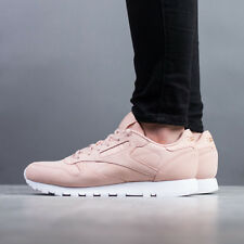 WOMEN'S SHOES SNEAKERS REEBOK CLASSIC LEATHER NUDE [CN1504]