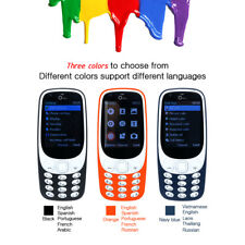 """Oeina 2.4"""" 3310 long standby GSM 4 SIM 32MB+32MB Dual Camera Chat Mobile Phone"""